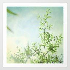 Summer Green Art Print