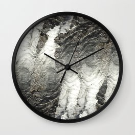 Black Ice Wall Clock