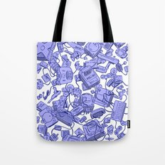 Retro Gamer - Blue Tote Bag