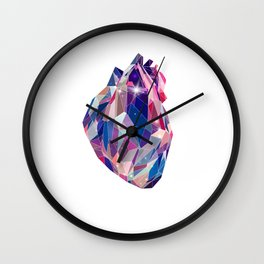 Stellar heart Wall Clock
