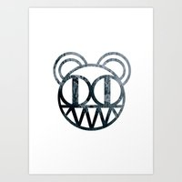 radiohead Art Prints featuring Radiohead by Skorokhodov Ivan
