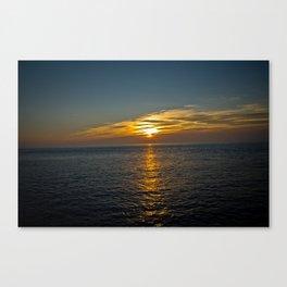 Horizon Walkway Canvas Print