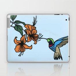 Hummingbird Garden Paper-cut  Laptop & iPad Skin