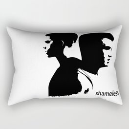 Shameless Ian Gallagher and Mickey Milkovich Rectangular Pillow