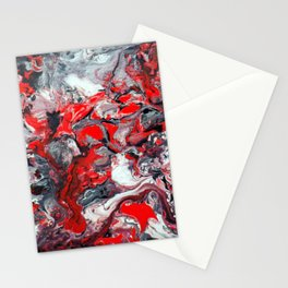 Red Dream Stationery Cards