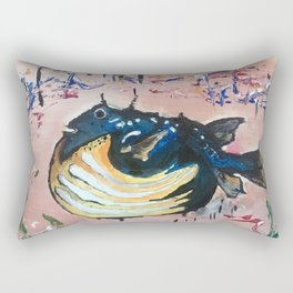Holy Cowfish Rectangular Pillow