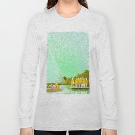 MOONRISE KINGDOM Painting Poster | PRINTS | #M46 Long Sleeve T-shirt