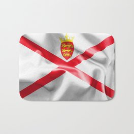 Jersey Flag Bath Mat