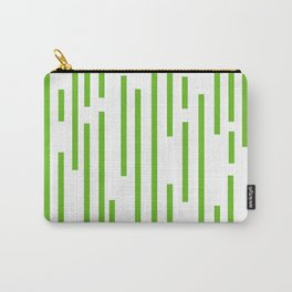 Minimalist Lines – Green Carry-All Pouch