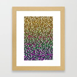 Encyclopedic Grid Framed Art Print