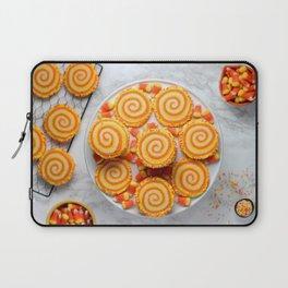 Halloween Candy Corn Cookies Laptop Sleeve