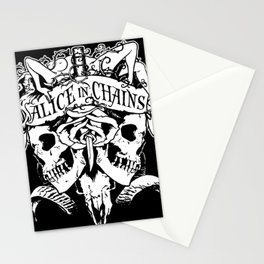alice in chains logo tour 2020 2021 ngapril Stationery Cards