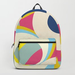 Retro Shapes and Colors Backpack