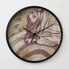 The Contortionist Wall Clock