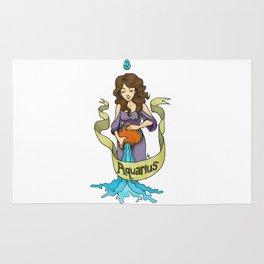 Aquarius - The Water Bearer Rug