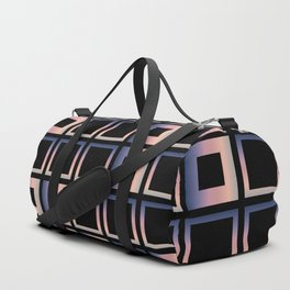 Composition of squares Duffle Bag