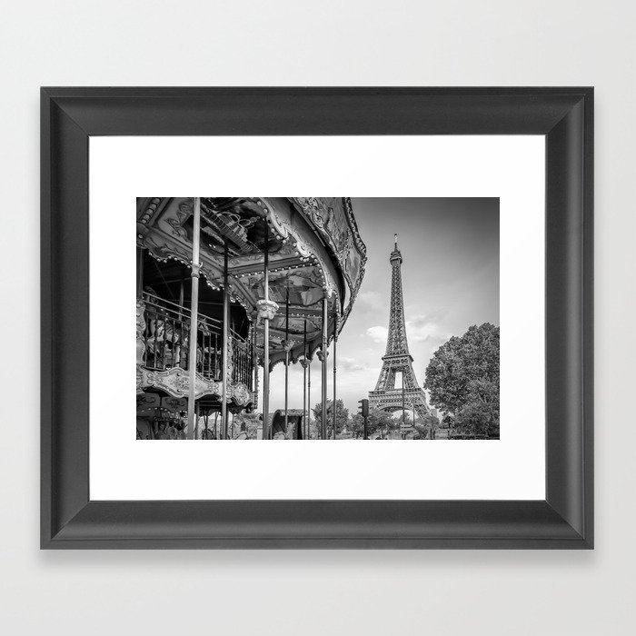 Typical Paris Gerahmter Kunstdruck