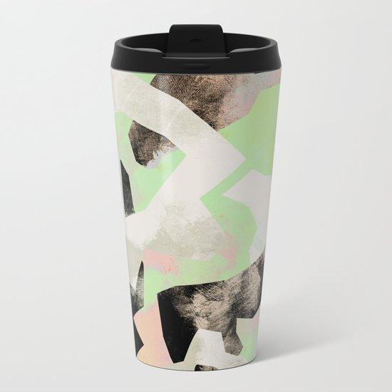 Camouflage VII Metal Travel Mug