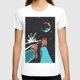 The Point of No Return Climate Change Art Print T-shirt