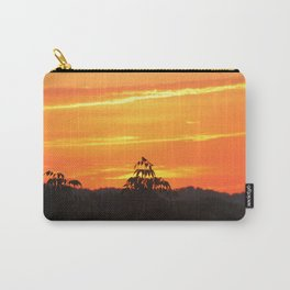 Red Sky Sunset with Red Robin Carry-All Pouch
