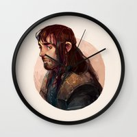 kili Wall Clocks featuring Kili by kitsu-neko
