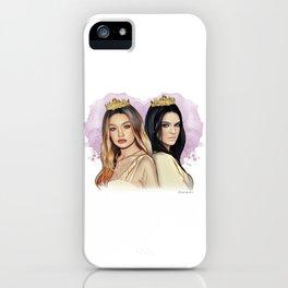 Gigi Hadid & Kendall Jenner iPhone Case