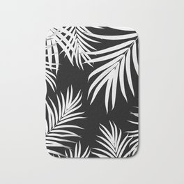 Palm Leaves Pattern Summer Vibes #4 #tropical #decor #art #society6 Bath Mat