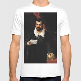 Annibale Carracci ritratto del medico Bossi T-shirt
