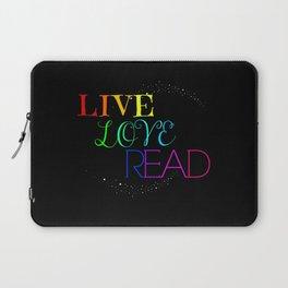 Live Love Read Laptop Sleeve