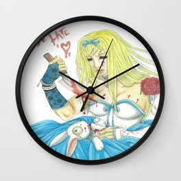 Dont Be Late Wall Clock