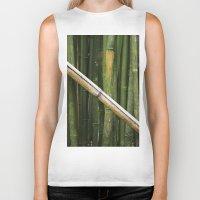 bamboo Biker Tanks featuring Bamboo by Rachelvb