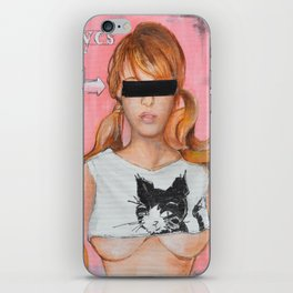 Here Kitty Kitty iPhone Skin