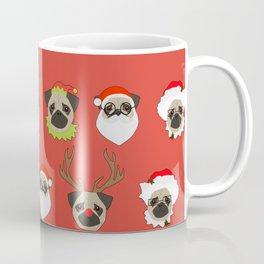 Xmas Pugs Coffee Mug