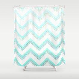 NUDE MINT  Shower Curtain