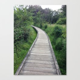 Baesic Boardwalk Trail Canvas Print