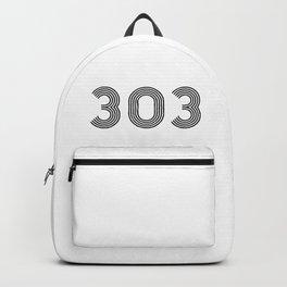 303 rave logo Backpack