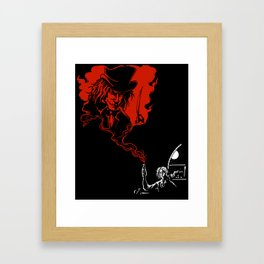 Jekyll and Hyde Framed Art Print