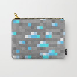 Mined Diamond Block Everything Carry-All Pouch