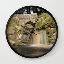 Panniers pool 1 Wall Clock