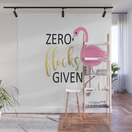 Zero Flocks Wall Mural