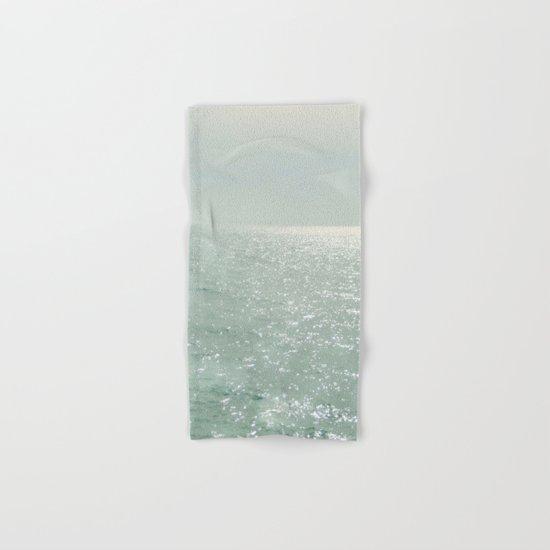 The Silver Sea Hand & Bath Towel