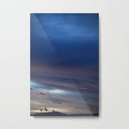 Flag Landscape Metal Print