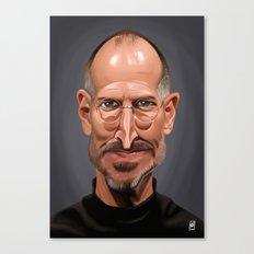 Celebrity Sunday ~ Steve Jobs Canvas Print