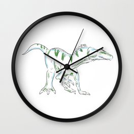 Baryonyx Wall Clock