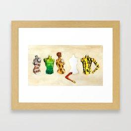Position vacant Framed Art Print