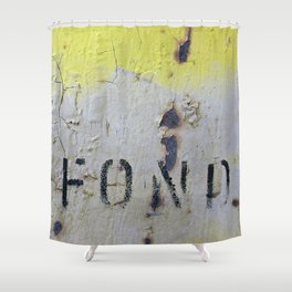 Fond Shower Curtain