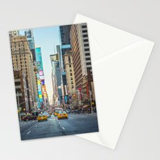Sunset on 7th Avenue Stationery Cards