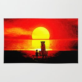Stay Watch Sunset Rug