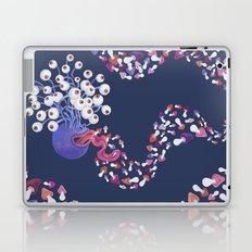 Mushroom Monster Laptop & iPad Skin