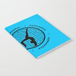 Circle Gymnastics new blue Notebook